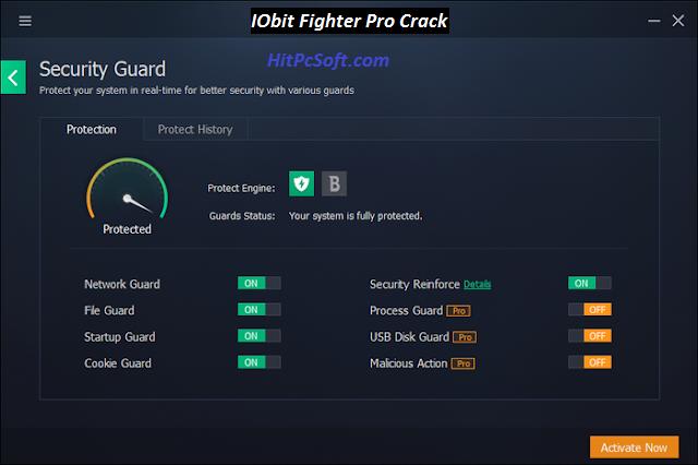 IOBIT Malware Fighter Pro 8.2.0.588 Crack + Serial Key Free