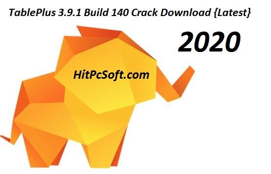 TablePlus 3.9.1 Build 140 crack