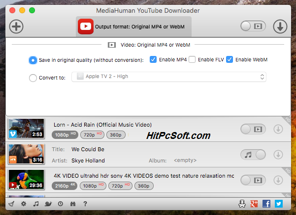 MediaHuman Youtube Downloader 3.9.9.47 With Crack