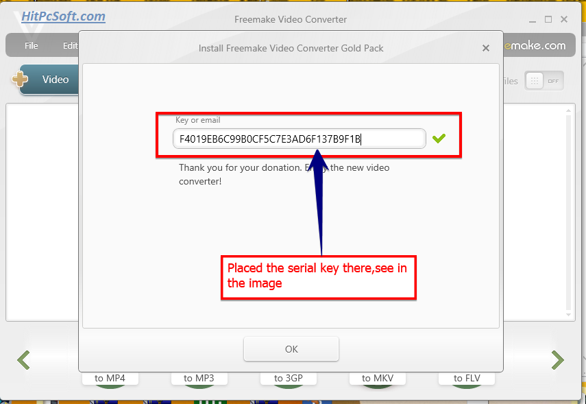 Freemake Video Converter Crack 4.1.11.109 + Serial Key
