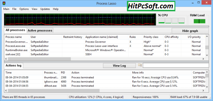Bitsum Process Lasso Pro Crack 9.9.1.35 + Serial Key