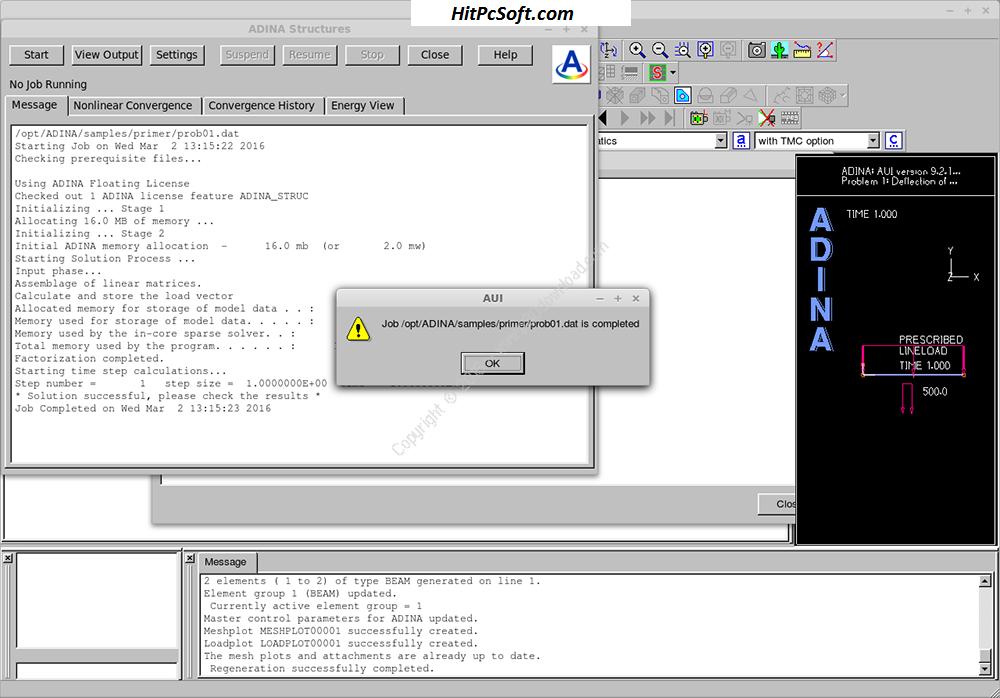 ADINA System Crack 9.6.3 + License Key Download