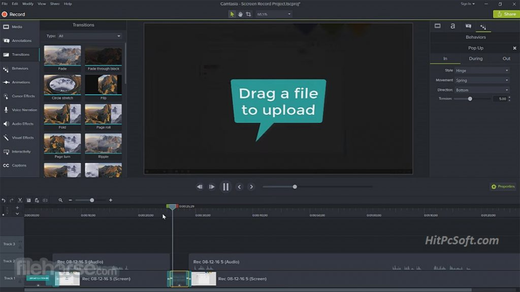 TechSmith Camtasia Crack 2020.0.12 Keys Download