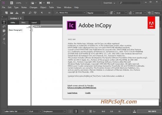 Adobe InCopy Crack 2021 v17.1.1.34 Free Download