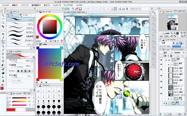 Clip Studio Paint EX Crack 1.10.5 + Keygen Download