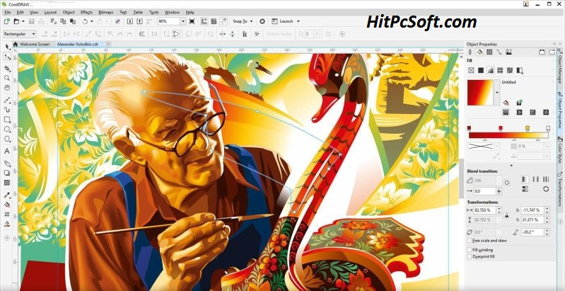 CorelDraw Graphics Suite Crack 22.1.1.523 Keys Free