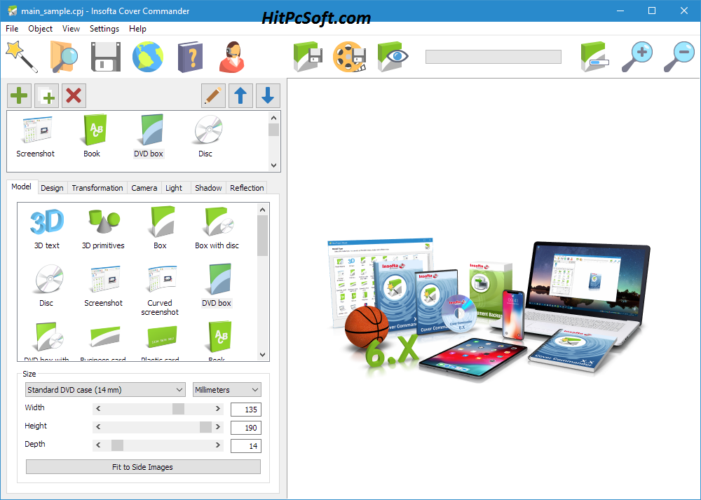 Insofta Cover Commander Crack 6.8.0 + Key Download