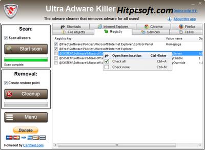 Ultra Adware Killer Crack 9.6.0.0 + Keygen Download
