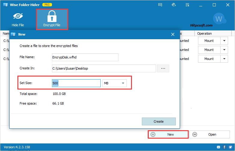 Wise Folder Hider Pro Crack 4.3.2.197 + Keys Download