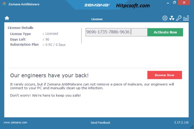Zemana Antimalware Crack 3.2.27 + Activation Key Download