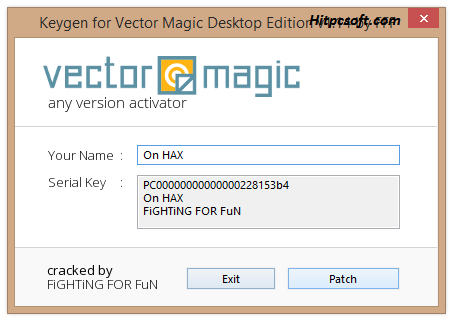 Vector Magic Crack 1.21 + Product Key Download 2021