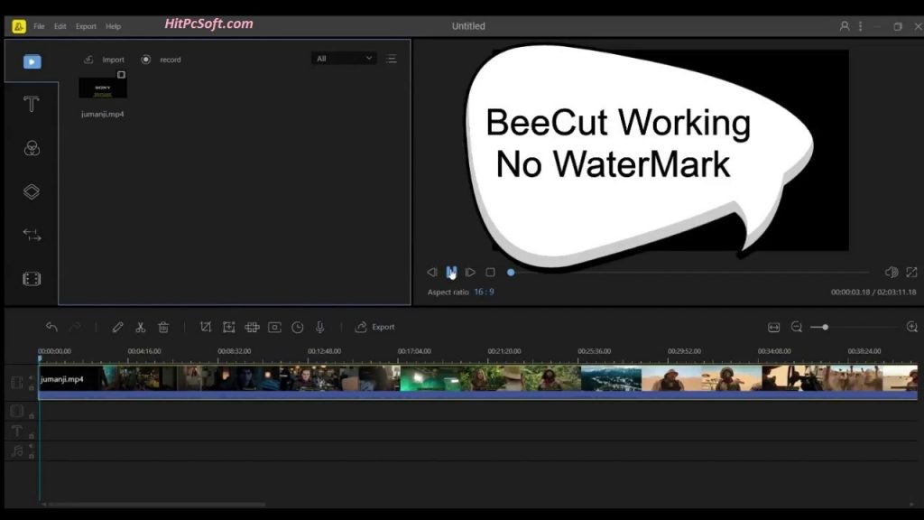 BeeCut Crack 1.6.7.14 + Keys Free Download
