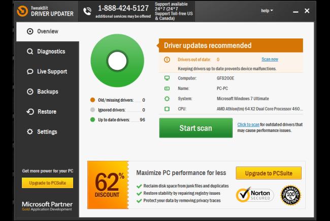 TweakBit Driver Updater Crack 2.2.4.56134 Keys Free